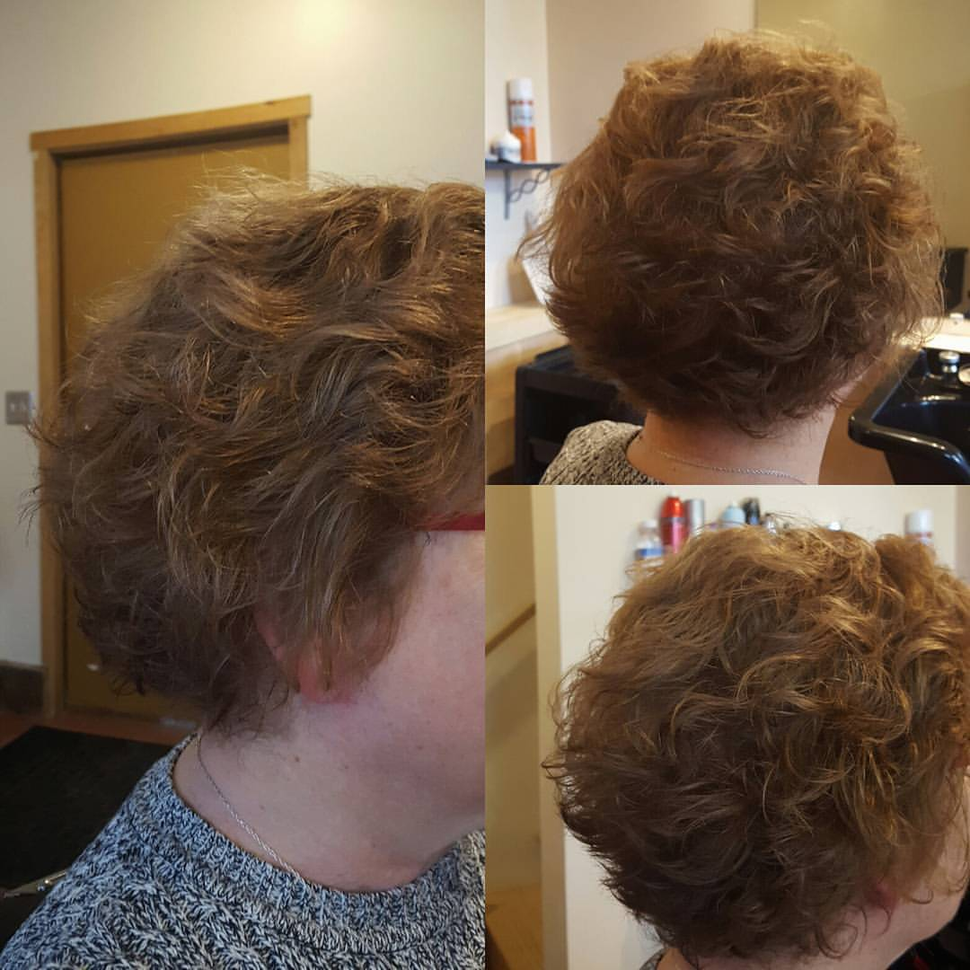 aunt janet womens hair cut traverse city michigan pinups and needles
