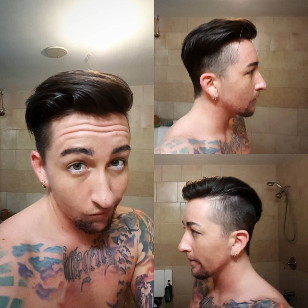 charlie mens hair cut traverse city michigan pinups and needles